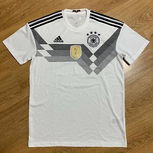 Germany 2018/2019 Home Football Shirt Jersey Adidas Size M