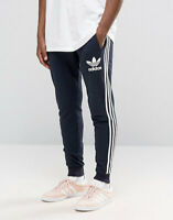 Adidas Original 3-Stripes French Terry Sweat Pants Joggers Track Pants Slim Fit