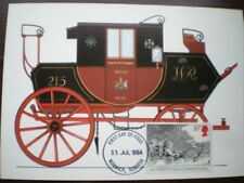 POSTCARD ROYAL MAIL C1830 NORWICH TO LONDON MAIL COACH
