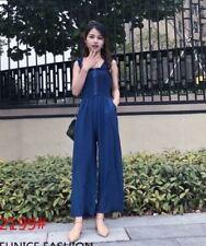 Cotton  Jumpsuit EC 2199 Navy Blue