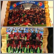 Handmade Pine Plaques UEFA Euro 2016 Champions (Portugal Team)
