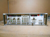 HP 8350B SWEEP OSCILLATOR W/ HP 83592B RF PLUG-IN