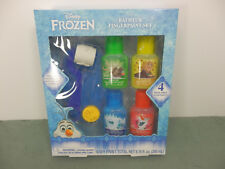 Disney Frozen Bathtub Fingerpaint Set Paint Palette, Roller and Stamper 3+