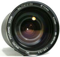 Vivitar 28-200mm F3.5-5.3 MC MACRO Manual Focus Zoom Lens P/K-A UK Fast Post