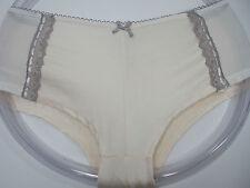 Black Fuchsia Pink & Gray Boyshort Panty, Sie 1X