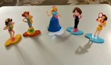 "Tara Tiny-Teeny Collection ~ 2"" Fashion figures ~ vintage 80s~90s ~ Lot of 5"