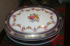 Stunningly Beautiful Extra Large Ornate Limoges Trinket Box/Casket Made in Franc