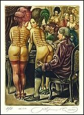 Kirnitskiy Sergey 2010 Exlibris C4 Casanova Erotic Erotik Nude Nudo Woman 189