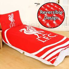 LIVERPOOL FC impulsion Set Housse de couette simple réversible FOOTBALL literie