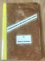 Interim Listing of New Mexico Trade Tokens by Richard Worthington - Printed 1987