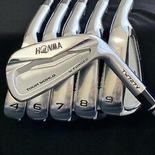 Mint Honma Tour World TW727V Iron Set Stiff Flex 4,6,7,8,9,10  Forged