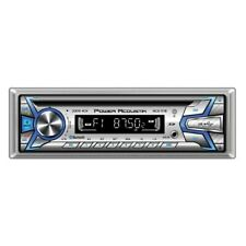Power Acoustik Silver AM/FM/MP3/WMA/CD/USB/Bluetooth/AUX Stereo Receiver