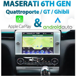 Maserati Quattroporte 2012-16 CarPlay & Android Auto Integration for UConnect