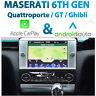 Maserati Quattroporte 2012-16 CarPlay & Android Auto Integration for UConnect
