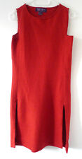 RALPH LAUREN ROUGE en maille de lin robe-Taille S