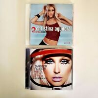 Christina Aguilera - Lot of 2 CDs - What A Girl Wants Remixes + Decade of Hits