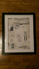SMITH & WESSON vintage PATENT DRAWING  1937 U.S.A PRINT L@@K