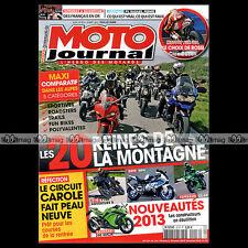 MOTO JOURNAL N°2013 YAMAHA 530 T-MAX KAWASAKI ER-6N 1000 VERSYS HONDA NC 700 S