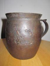 ANTIQUE GERMAN CAST IRON ENAMEL LONDON UK EXHIBITION CUP FAIR CIVIL WAR ERA 1862