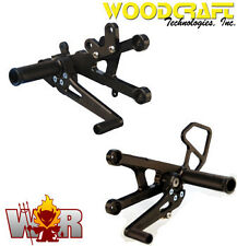 Woodcraft Rearsets Yamaha YZF-R6 06 07 08 09 10 11 12 13 GP Shift Rear Set