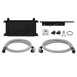 Mishimoto Oil Cooler Kit - Black - fits Nissan 350Z VQ35DE / VQ35HR - 2003-09