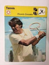 CARTE EDITIONS RENCONTRE 1977 / TENNIS - RICARDO GONZALES