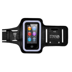 Sports Running Jogging Armband Holder Cover Case With Key Pocket for iPod Nano 7