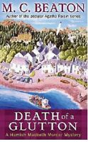 M C BEATON ___ DEATH OF A GLUTTON ___ BRAND NEW A FORMAT__ FREEPOST UK