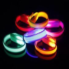 Glowing LED Flashing Wrist Band Bracelet Arm Band Belt Light Up Dance Party