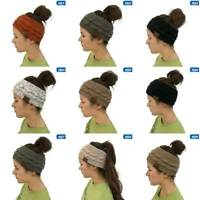 Women Winter Knitted Ear Warmer Fashion Hair Band Crochet Headband Head Wrap