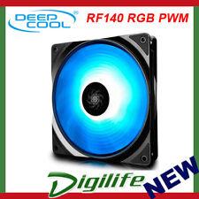 DeepCool 140mm RF140 RGB PWM Fan Max 1200RPM DP-FRGB-RF140-1C