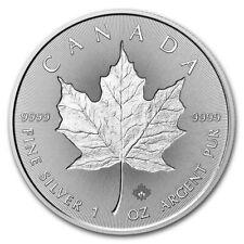 1 oz Silver Maple Leaf 2018 Canada