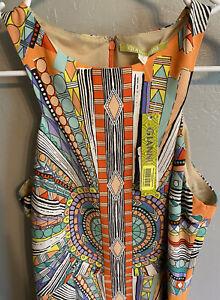 Gianni Bini Dress Lola Dream Catcher Sleeveless Lined $119 New Size Small NWT