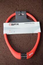 LYNX Kabelschloss Zahlenschloss rot 70 cm lang 15 mm Durchmesser - NEU