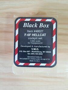 BLACK BOX 48027 F-6F HELLCAT Cockpit Set for Hasegawa 1/48 Model Aircraft Kit