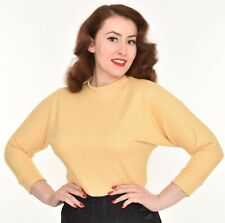 FREDDIES OF PINEWOOD, Butter Yellow Ski Top, 40s, 50s, size XL