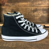 Converse Womens Chuck Taylor All Star Hi M9160 Black Sneakers Shoes Size 7.5