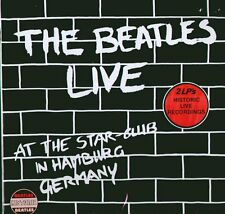 "THE BEATLES "" LIVE AT THE STAR CLUB IN HAMBURG GERMANY "" 2 LP NUOVO - RARO"