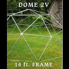 GEODESIC DOME 14 Ft. Frame Only - BURNING MAN or Greenhouse