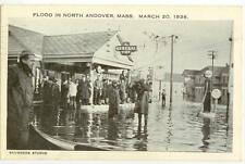 March 20 1936 Flood In North Andover Massachusetts - General Tires gas station