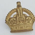 Officers rank Kings crown Brass 34mm Non voided cushion East west wide lugs