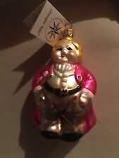 Christopher Radko ringmaster Retired Mint New Condition