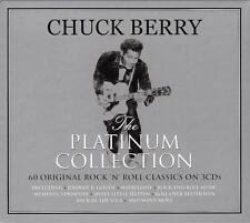 CHUCK BERRY - THE PLATINUM COLLECTION - 60 ORIGINAL CLASSICS (NEW SEALED 3CD)