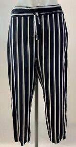 Ladies New Ex George Stripe Crops size 8 10 12 14 16 18 20  24