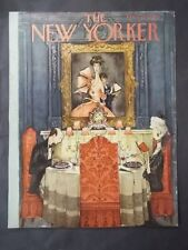 Vintage New Yorker Magazine (COVER ONLY) May 3 1952 - Mary Petty cover