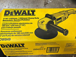 Dewalt DW849 Polisher Sander Variable Speed Auxiliary Handle TESTED WORKING