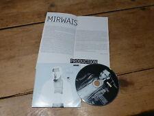 TAXI GIRL - MIRWAIS - PRODUCTION !!!!! CD PROMO + PRESS/SHEET !!!MEGA RARE!!!!