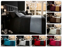 Diamante 5pcs Bed in Bag Bedding Sets Duvet Covers With Runner and Cushion Cover