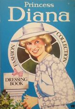 Princess Diana: FASHION COLLECTION DRESSING BOOK BLUE