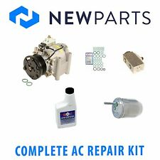 Jaguar S-Type 00-02 3.0L Complete A/C Repair Kit With New Compressor & Clutch